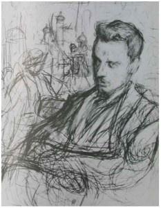 R.M. Rilke door Leonid Pasternak